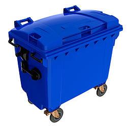 Мусорный бак для ТБО 660л SULO (Германия) Синий
