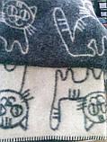 Детское, шерстяное одеяло -  Коты   Klippan Saule (Riga ) , фото 4