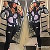 Женский спортивный костюм под Nike принт