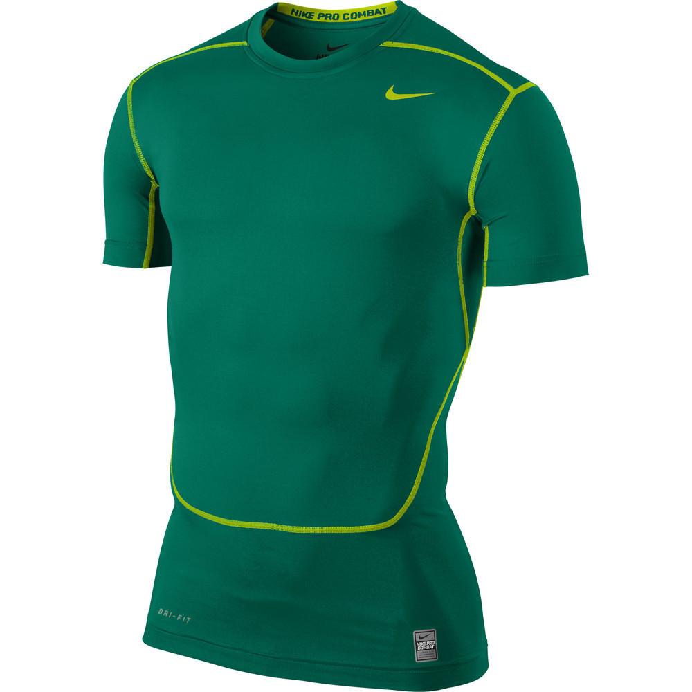 Короткий рукав TEAM-каталог Термобелье Nike CORE COMPRESSION SS TOP 449792-346 Оригинал(02-08-06-02) S