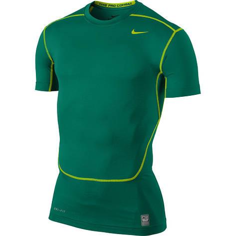 Короткий рукав TEAM-каталог Термобелье Nike CORE COMPRESSION SS TOP 449792-346 Оригинал(02-08-06-02) S, фото 2