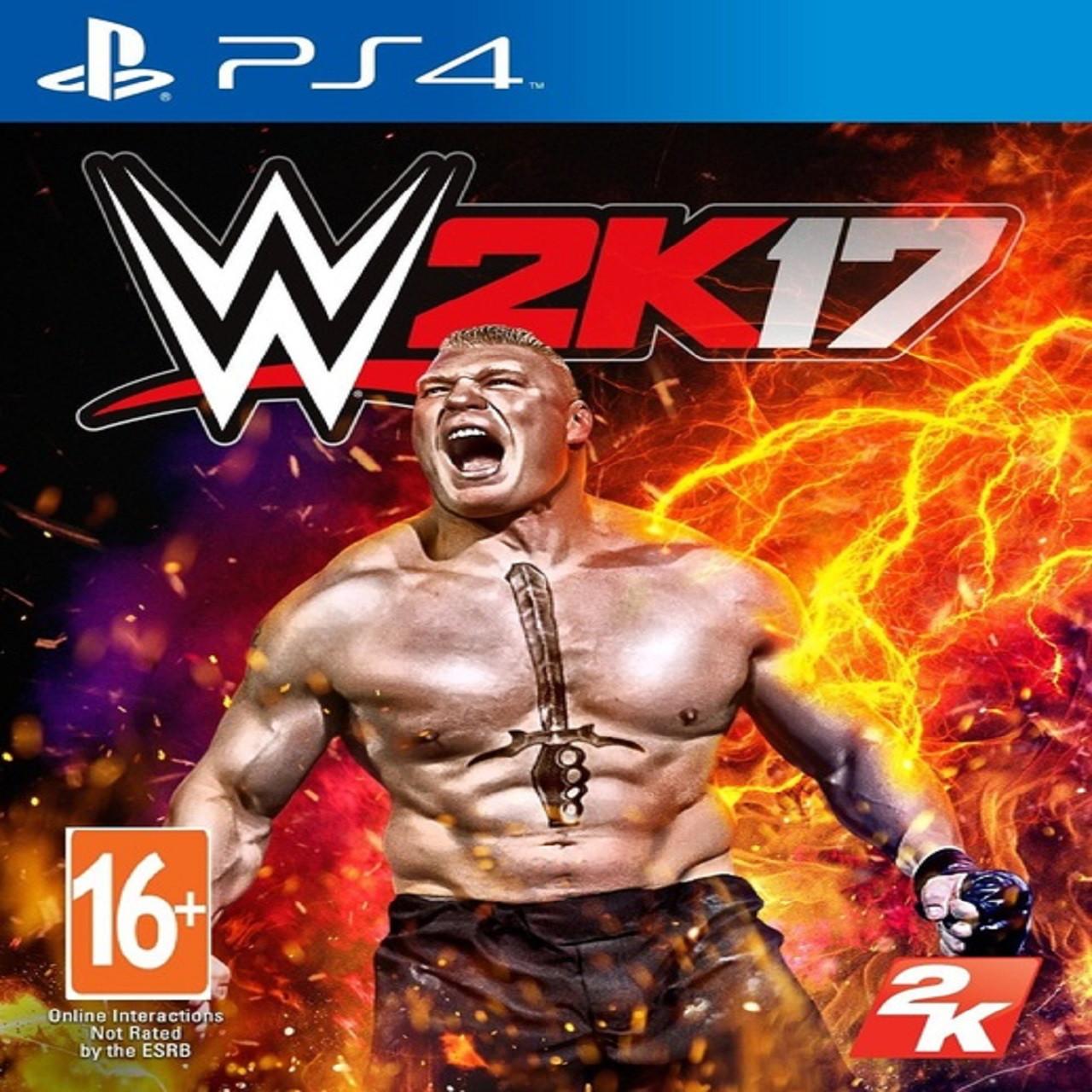 WWE 2K17 (англійська версія) PS4 (Б/В)