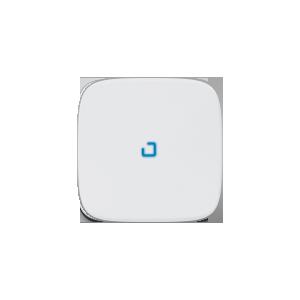 Клавиша выключателя с подсветкой Valena Allure Legrand, цвет белый
