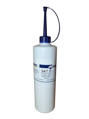 Клей ПВА с минимальным временем схватывания Клейберит Темпо 347.0 (0,5 кг), фото 2