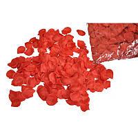 Лепестки роз искусственные (красные) 200 гр.