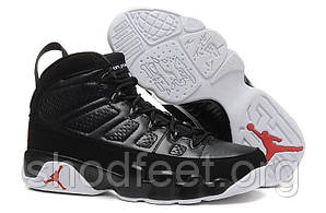 Мужские баскетбольные кроссовки Air Jordan 9 Retro Black White
