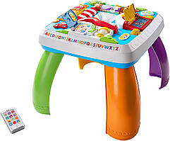 Fisher-Price Умный игровой столик с технологией Smart Stages Laugh & Learn Around The Town Learning Table