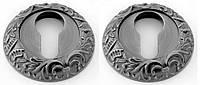 Накладка под цилиндр SAFITA PZ R08 BB - античное серебро