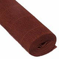 Бумага гофрированная коричневая