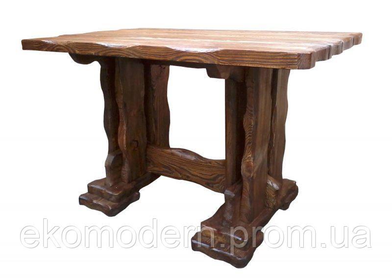 Стол деревянный под старину ГРИЗЛИ