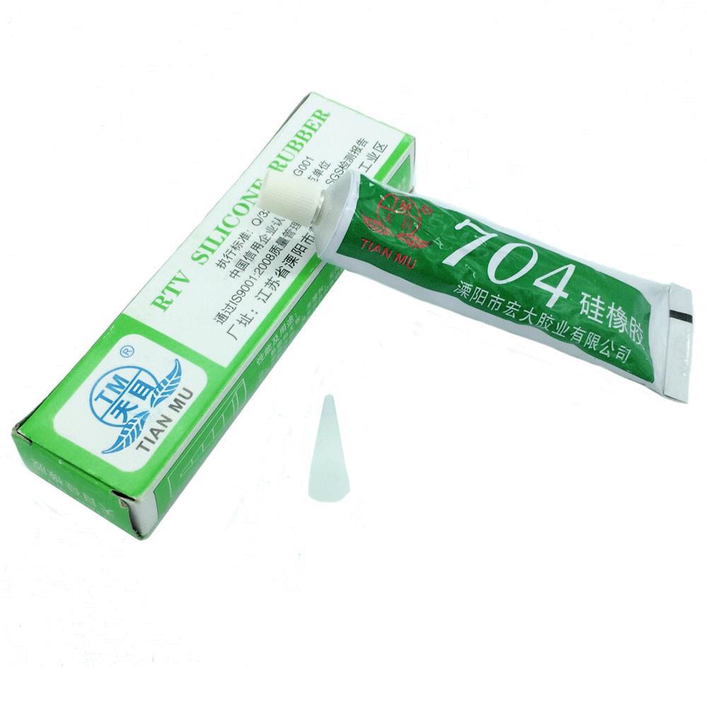 704 Герметик термостойкий клей силиконовый резина для электроники