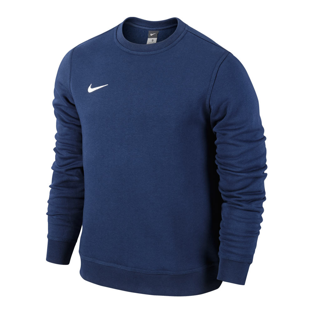 Толстовки и свитера детские TEAM-каталог Толстовка Nike Team Club Crew 658941-451 JR(02-11-06-03) S