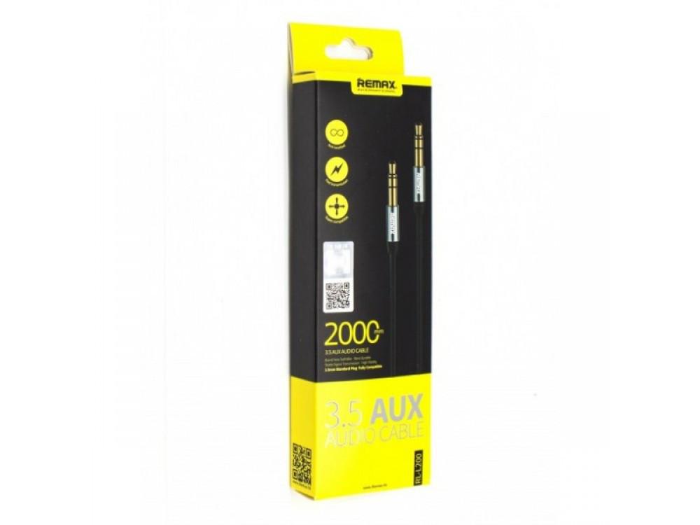 AUX кабель 3.5mm AUX CABLE REMAX RM-L100 1m
