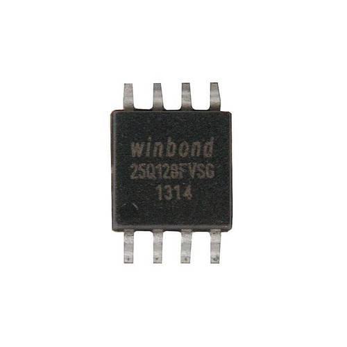 Чип Winbond 25Q128FVSG в корпусе SOP8, 128Мб Flash SPI