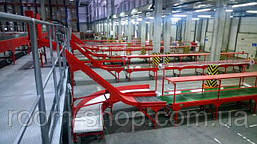 Ленточный конвейер (навантажувач) ширина 800 мм длинна 3 м., фото 2