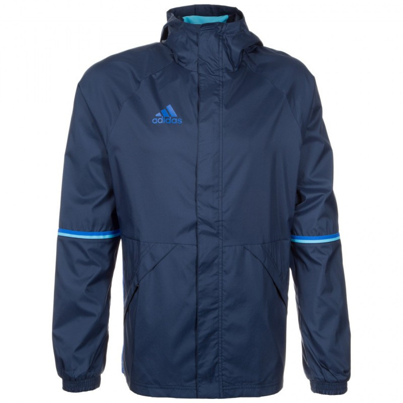 Куртки и жилетки мужские Ветровка Adidas Condivo 16 Rain Jacket AC4407(02-13-16-03) L