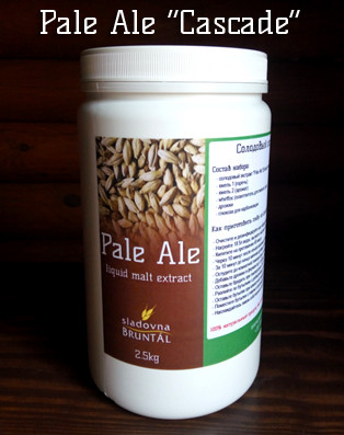 "Pale Ale ""Cascade"" (экстракт 2.5кг)"