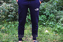 Штаны  мужские  спортивные легкие синие  (реплика)