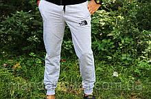 Штаны мужские спортивные  серые легкие   (реплика)
