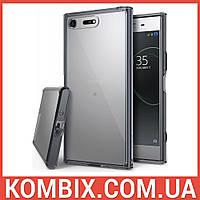 Чехол для SONY Xperia XZ Premium Smoke Black - Ringke Fusion, фото 1