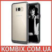 Чехол для SAMSUNG Galaxy S8 Smoke Black - Ringke Fusion, фото 1