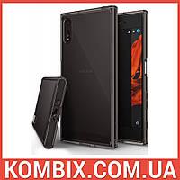 Чехол для SONY Xperia XZ F8332 Dual Sim Smoke Black - Ringke Fusion, фото 1