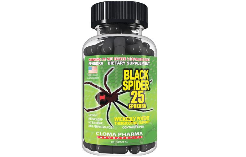 Жиросжигатель  Cloma Pharma Black Spider 100caps.
