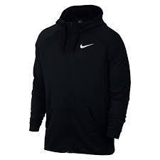 Кофти та светри Худи черного цвета из флиса Nike Training Dri-FIT 860465-010(05-06-03-02) S