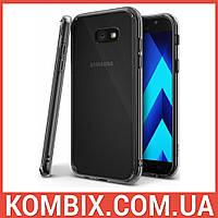 Чехол для SAMSUNG Galaxy A7 2017 Duos SM-A720 Smoke Black, фото 1