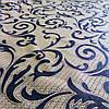 Ткань гобелен Вязь коричневый 150 см (951541)