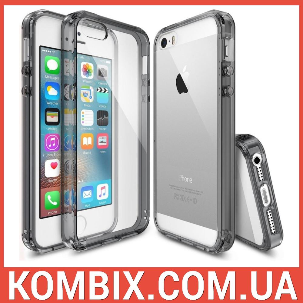 Чехол для iPhone SE/5S/5 Smoke Black, фото 1