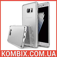 Чехол Mirror для SAMSUNG Galaxy Note 7 N930F Silver