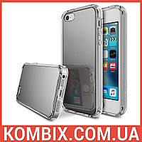 Чехол Mirror для iPhone SE/5S/5 Silver, фото 1