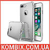 Чехол Mirror для Apple iPhone 7 Plus / 8 Plus Silver