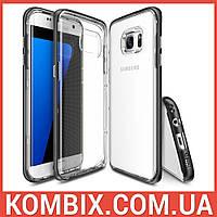 Чехол Frame для SAMSUNG Galaxy S7 Edge SF Black clip, фото 1