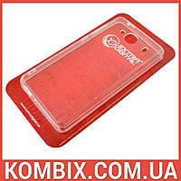Чехол для Xiaomi Redmi 2 прозрачный (не силиконовый), фото 1