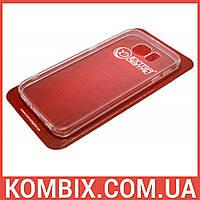 Чехол для Samsung Galaxy S6 прозрачный (не силиконовый), фото 1