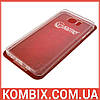 Чехол для Samsung Galaxy Note 5 прозрачный (не силиконовый)