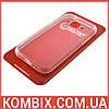 Чехол для Samsung Galaxy J1 прозрачный (не силиконовый)