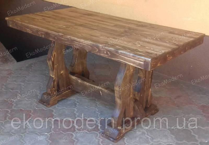стол деревянный под старину эльф