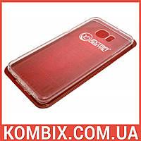 Чехол для Samsung Galaxy S6 Edge+ G928 прозрачный (не силиконовый), фото 1
