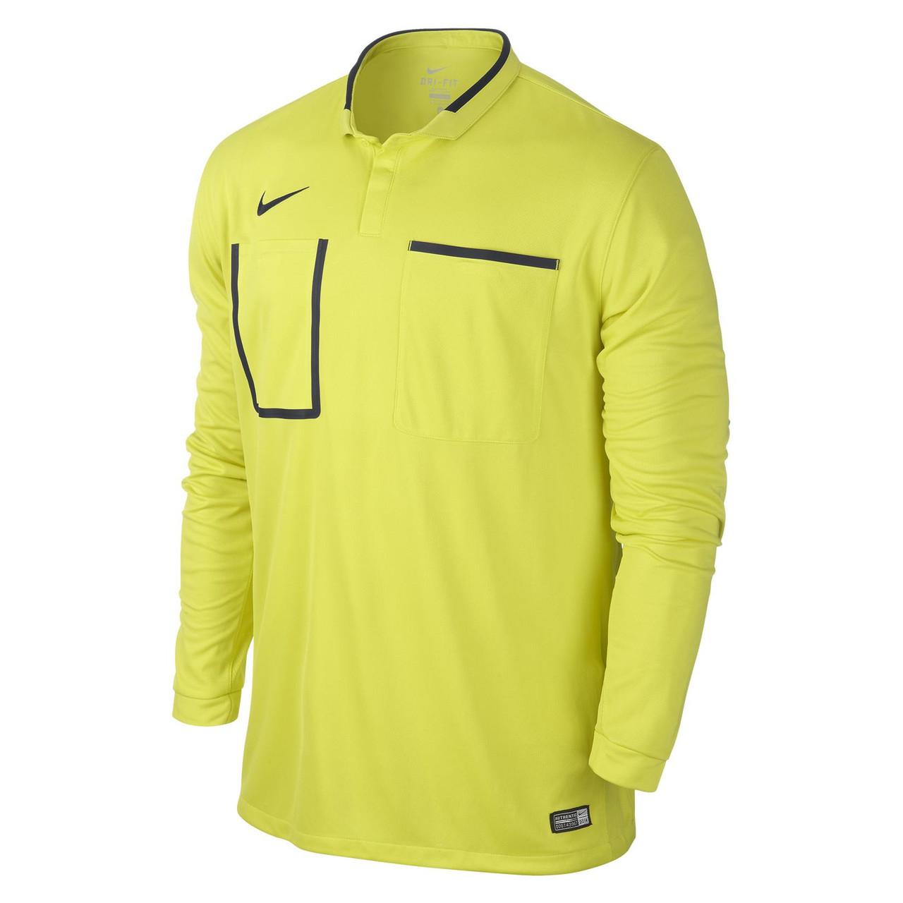 Футболки мужские TEAM-каталог Nike Referee Jersey Long Sleeve 619170-358(05-04-01-03) S
