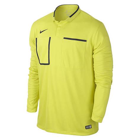 Футболки мужские TEAM-каталог Nike Referee Jersey Long Sleeve 619170-358(05-04-01-03) S, фото 2