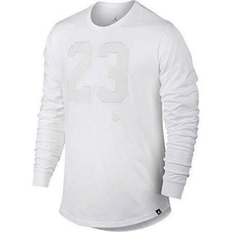 628c55dd71fb Толстовки и свитера мужские Nike Air Jordan Longsleeve  833924-100(05-12-05-01) S