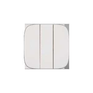 Клавиша трехклавишного выключателя Valena Allure Legrand, цвет белый