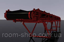 Ленточный конвейер (навантажувач) ширина 900 мм длинна 7 м., фото 2