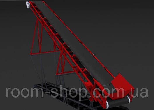 Ленточный конвейер (навантажувач) ширина 900 мм длинна 8 м., фото 2