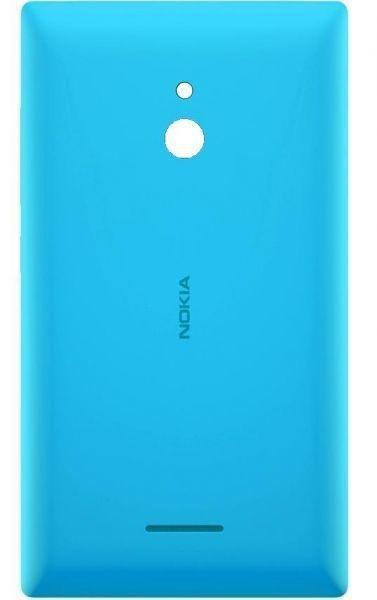 Задняя крышка Nokia XL Dual Sim (RM-1030) голубая