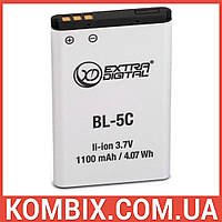 Аккумулятор Nokia BL-5C | Extradigital, фото 1