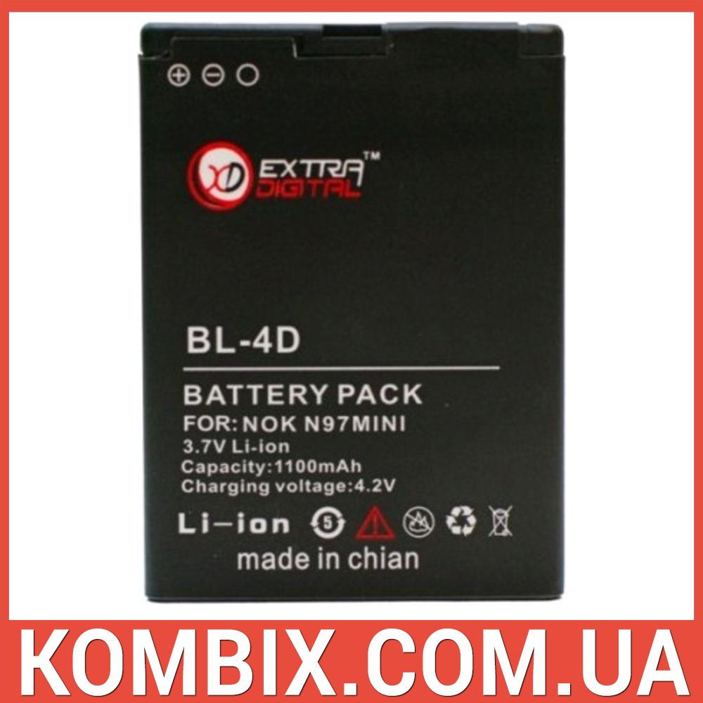 Аккумулятор Nokia BL-4D | Extradigital, фото 1